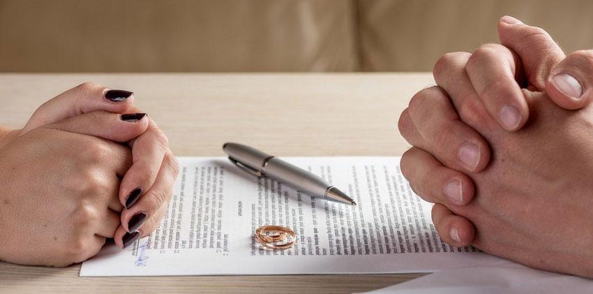 подписание соглашения при расторжении брака