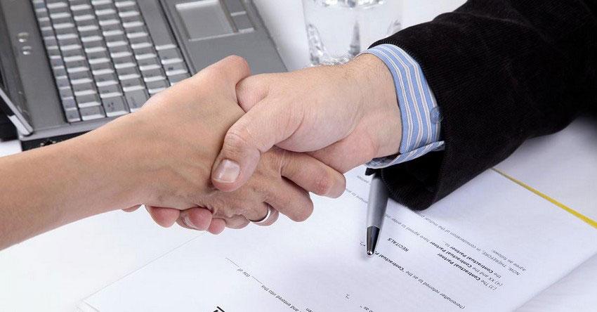 завершение подписания соглашения
