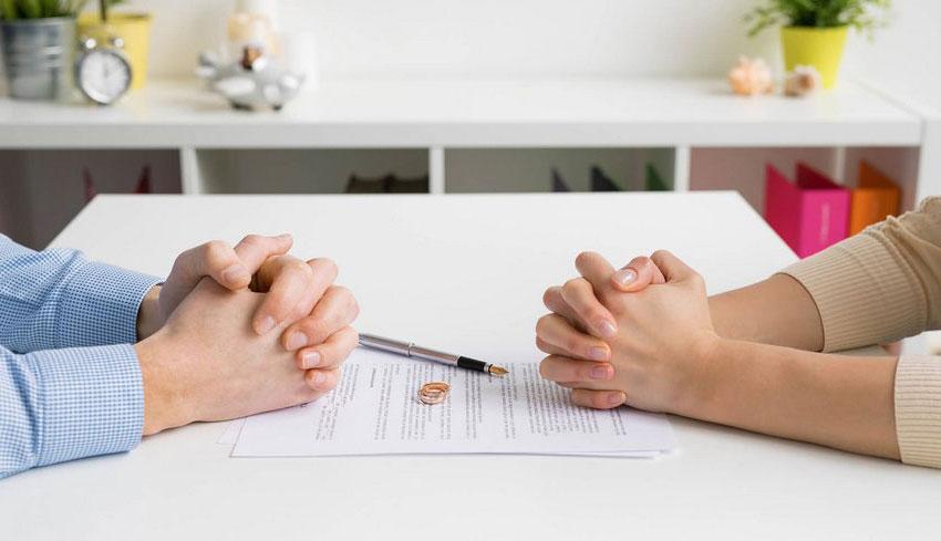 подписание соглашения о разводе и разделе жилья